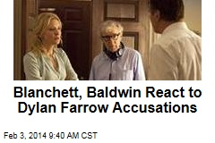 Blanchett, Baldwin React to Dylan Farrow Accusations