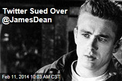 Twitter Sued Over @JamesDean