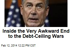 Inside the Very Awkward End to the Debt-Ceiling Wars