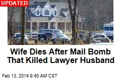 Clue With Mail Bomb That Killed Lawyer: a Note