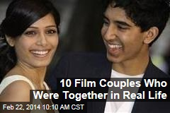 10 Film Couples Who Were Together in Real Life