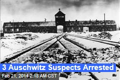 3 Auschwitz Suspects Arrested