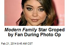 Modern Family Star Groped by Fan During Photo Op