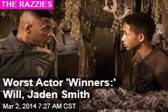 Smiths Romp at Razzies