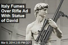 Italy Fumes Over Rifle Ad With Statue of David