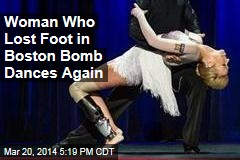 Woman Who Lost Foot in Boston Bomb Dances Again