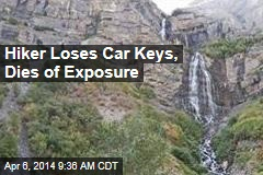 Hiker Loses Car Keys, Dies of Exposure
