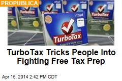 TurboTax Tricks People Into Fighting Free Tax Prep