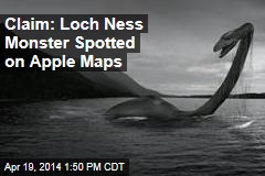 Claim: Loch Ness Monster Spotted on Apple Maps