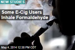 In Some E-Cigs, Carcinogens Lurk