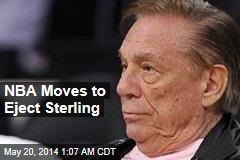 NBA Takes Steps to Eject Sterling