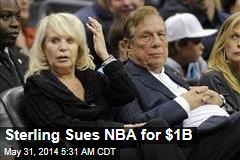 Sterling Sues NBA for $1B