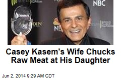 Casey Kasem's Wife Chucks Raw Meat at His Daughter