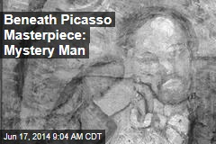 Beneath Picasso Masterpiece: Mystery Man