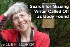 Search for Missing Writer Called Off as Body Found