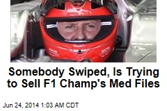 Somebody Is Trying to Sell Schumacher's Medical Files