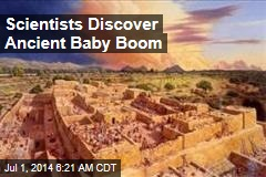 Scientists Discover Ancient Baby Boom