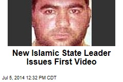 New Islamic State Leader Issues First Video