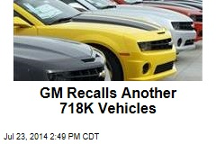 GM Recalls Another 718K Vehicles