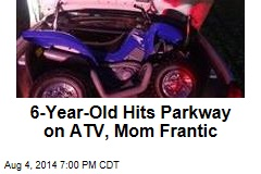 Autistic Boy Drives ATV Onto Parkway