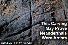 This Carving May Prove Neanderthals Were Artists