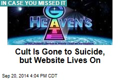 Cult Is Gone to Suicide, but Website Lives On
