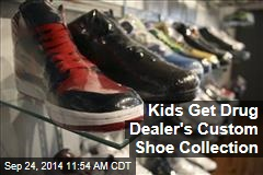 Kids Get Drug Dealer's Custom Shoe Collection