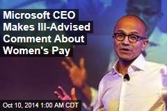 Microsoft CEO to Women: It's Good Karma to Not Ask for More Pay