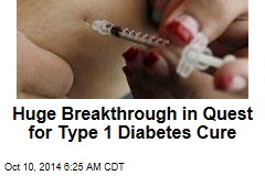 New diabetes breakthrough 'bigger than the discovery of insulin'