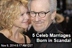 5 Celeb Marriages Born in Scandal
