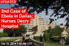 Texas: Another Hospital Worker Has Ebola