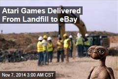 Atari Games Delivered From Landfill to eBay