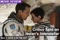 Critics Split on Nolan's Interstellar
