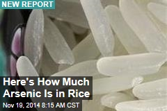 Here's How Much Arsenic Is in Rice