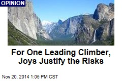 For One Leading Climber, Joys Justify the Risks