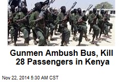 Gunmen Ambush Bus, Kill 28 Passengers in Kenya