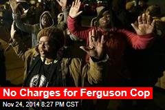 No Charges for Ferguson Cop