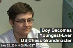 Boy Becomes Youngest-Ever US Chess Grandmaster