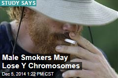 Male Smokers May Lose Y Chromosomes