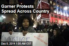 Garner Protests Spread Across Country
