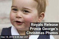 Royals Release Prince George's Christmas Photos