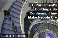 EU Parliament's Buildings So Confusing They Make People Cry