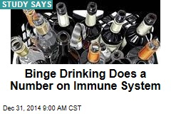 Binge Drinking Does a Number on Immune System