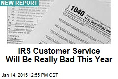 If You Call IRS This Year, You Probably Won't Get Through