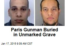 1st Paris Gunman Buried Despite Mayor's Objections