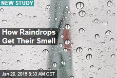 How Raindrops Get Their Smell