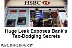 Huge Leak Exposes Bank's Tax-Dodging Secrets