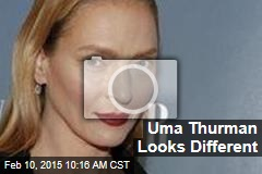 Uma Thurman Looks Different