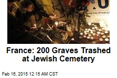 France: 200 Graves Trashed at Jewish Cemetery