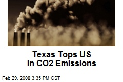 Texas Tops US in CO2 Emissions